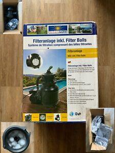 NEU OVP Solax-Sunshine Sandfilteranlage Speed Clean Classic 250N Steinbach Balls