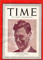1939 Time May 15 - Lou Gehrig is highest paid; Lead Belly guitarist found guilty