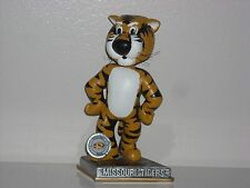 TRUMAN THE TIGER Missouri Tigers Mascot Bobble Head 2015 Platinum Springy New**