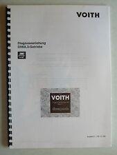 Voith DIWA. 3-ingranaggi-istruzioni di diagnostica, 1.1995, 56 pagine