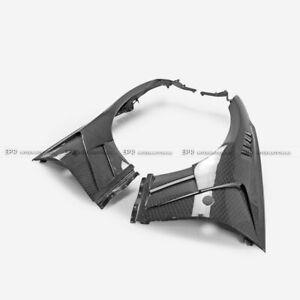 For Nissan 370Z Z34 09-17 EPA Style Honey Comb Weave Carbon Front Fender Bodykit