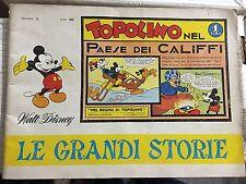 WALT DISNEY LE GRANDI STORIE N.2 TOPOLINO NEL PAESE DEI CALIFFI