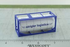 20' Strigler Logistics Tank Container 1:87 HO Scale