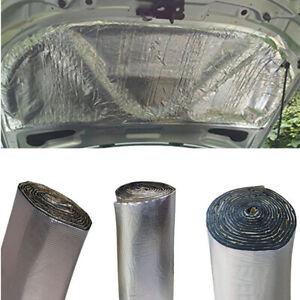 Car Insulation Sound Deadener Heat Shield Thermal Noise Proof Mat Aluminum Sheet