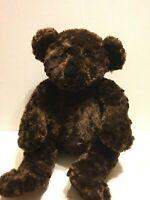 "Dan Dee Brown Shiny Bear 18"" Plush Stuffed Animal"