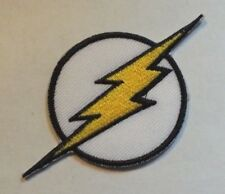 "The Flash Patch~3 1/4"" x 1 3/4""~Embroidered Applique~ DC Comics~Iron or Sew on"