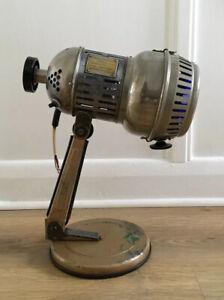 Unusual Vintage Mid Century Industrial Style German Lamp (Needs Wiring)