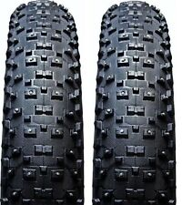 "2-Pack VEE Rubber STUDDED SnowShoe XL 26"" x 4.8"" Folding Fat Bike Tires Tubeless"
