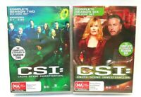 CSI Crime Scene Investigation Complete Season Two Six 6 Disc Set DVD Region 4