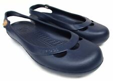 Crocs women's size 11 purple slingback ballet flats comfort shoes waterproof