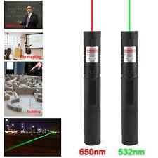 Grüner Laserpointer 532nm wiederaufladbarer Lazer Pen Hochleistungslichtstrahl