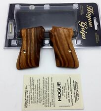Fits Walther PPK | Hogue Exotic Wood Grips 02210 Goncalo Alves Hardwood Grip
