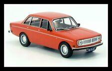 wonderful IXO-modelcar VOLVO 144 AUTOMATIC 1971 - orange - 1/43 - lim.ed.
