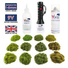 More details for wws pro grass micro static grass applicator four seasons & glue – model railway