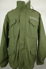Alpha Industries M-65 Military Field Jacket Men Size Large Regular Made In USA
