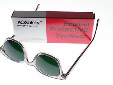 A.O. Vintage Green Safety Glasses New Old Stock48/22m.m