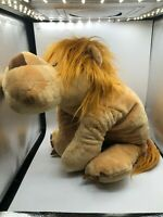 Large Jumbo NICI Lion Plush Kids Soft Stuffed Toy Animal Teddy Wild Friends