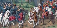 """A Chronicle Of The Crusades"" Sebastian Mamerot. TASCHEN. 2 Volumes."