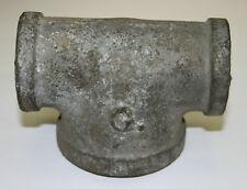 "1"" x 1"" x 1-1/2"" Galvanized Malleable Iron Tee (Lot of 10)"
