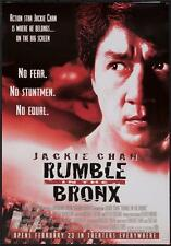 "RUMBLE IN THE BRONX 13""x19""  Original Promo Movie Poster MINT 1995 Jackie Chan"
