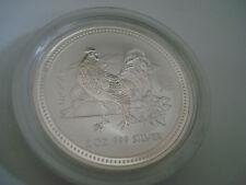 2 oz Silver Rooster Australian Lunar I