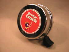 ORANGE CRUSH BICYCLE BELL VINTAGE STYLE AND VERY COOL