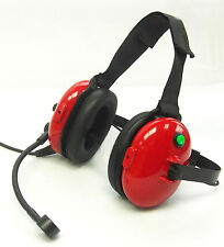 2-way Racing Headset Headphone +mic + cell Input NASCAR