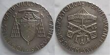 Vaticano medaglia 2° sede vacante 1978 argento