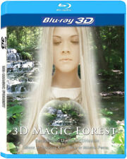 3D Magic Forest Blu-Ray 3D NICE! 3-D Bluray Movie Relax Video!