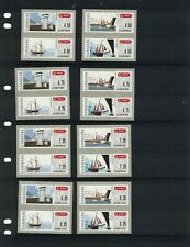 Denmark, Machine Postage Labels, 4 designs, 16 values, Mint. On original backing