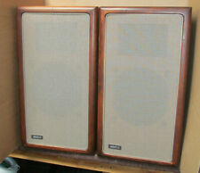 Large Advent Speaker Pair (Bullnose cabinets. Replaced foam and crossover caps)