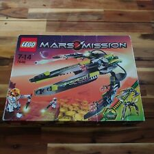 LEGO Mars Mission 7646- ETX Alien Infiltrator Boxed & Complete With Manual VGC