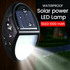 10 LED Solar Powered Lights Motion Sensor For Garden Outdoor Security Wall Lamp