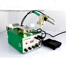 HOT CXG374 automatic Tin Supply Feed System lead-free Welding soldering station