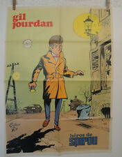 Poster SPIROU GIL JOURDAN TILLEUX N° 1832 24 mai 1973 TTBE NO COPY