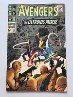 Avengers (1963 1st Series) #36 Stan Lee Nick Fury
