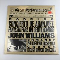 SEALED NEW Rodrigo-Concierto De Aranjuez/Fantasia Para Un-J. Williams/Ormandy LP