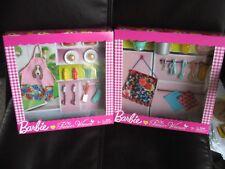 Barbie Pioneer Woman Cooking Sets - BBQ & Pasta NIB