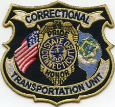 CONNECTICUT CT STATE TRANSPORTATION UNIT DOC CORRECTIONS sheriff police PATCH