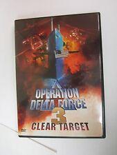 Operation Delta Force 3: Clear Target (DVD, 1999) Bryan Genesse, Jim Fitzpatrick