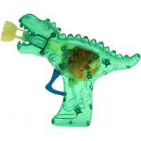 """Seifenblasen-LED-Pistole """"Dino-Gun"""" Komplett mit Seifenblasenflüssigkeit! - grün"""