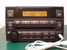 05-06 NISSAN ALTIMA RADIO CD PLAYER AUX Input CQ-JN2462X