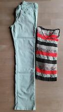 2 tlg. Damen Bekleidungspaket Jeans Hose Tom Tailor W29 L34 Pulli kurz only M