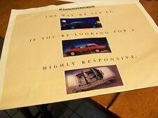 VOLKSWAGON FOR 1992 ADVERTISING SUPPLEMENT