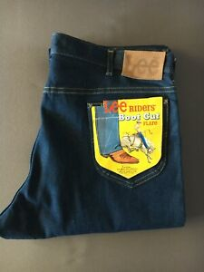 JEANS LEE RIDERS VINTAGE 70'S NEUF DE STOCK MADE IN USA