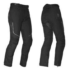 Pantalons noirs Richa pour motocyclette Femme