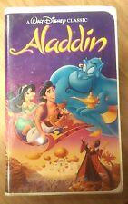 Aladdin Disney VHS Movie Black Diamond Series #1662