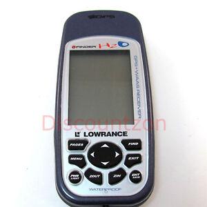 Used Lowrance iFinder H2O Outdoor/waterproof handheld GPS Receiver WAAS enabled
