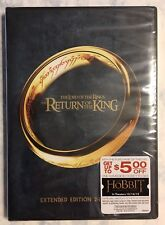 THE LORD OF THE RINGS THE RETURN OF THE KING DVD EXTENDED ED. WIDESCREEN 2 DISCS
