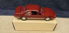 Vintage Ertl 1989 Beretta GT Dealer Promo in Medium Garnet Metallic Boxed